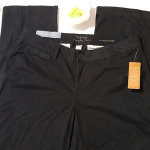 Sonoma Life+Style Mid Rise Straight Chino Pants